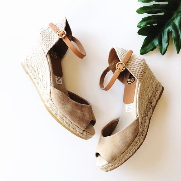 fb908d16566 Anthropologie Kanna espadrille wedge sandals